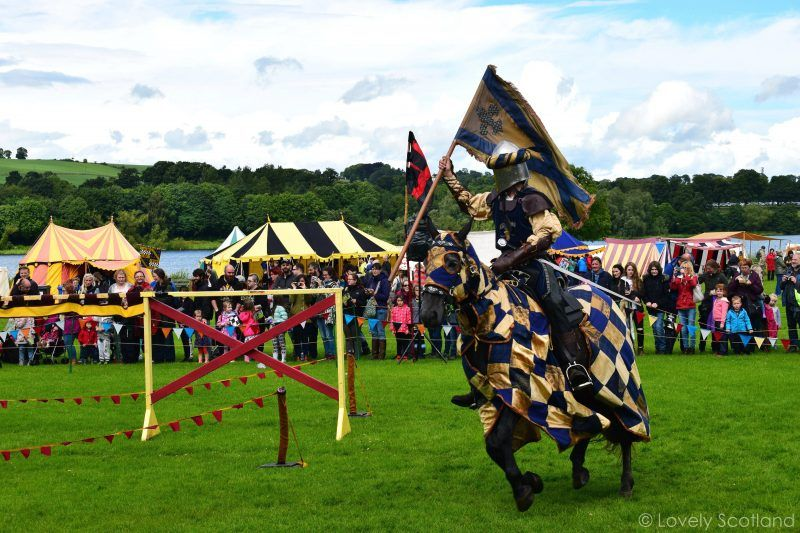 Linlithgow Palace - Jousting - Justas