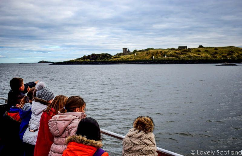 Inchcolm barco