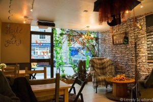 Pitlochry cafe