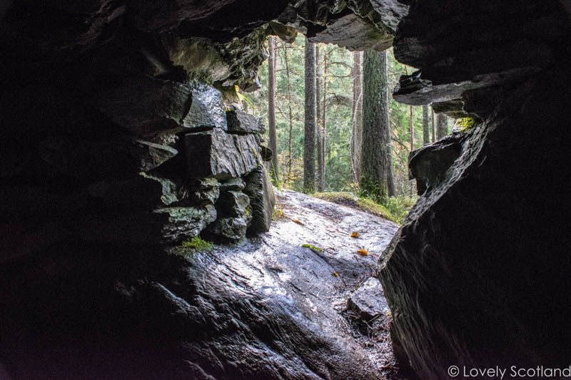 dunkeld The Hermitage ossian's cave