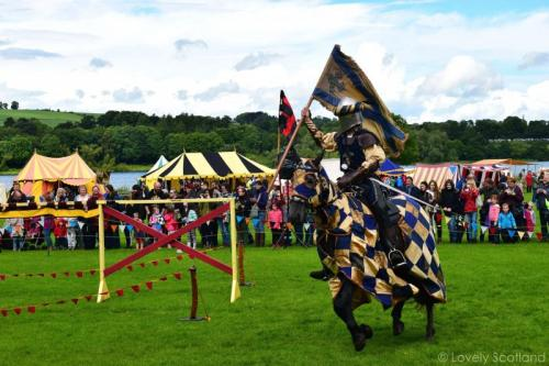Jousting Linlithgow Palace
